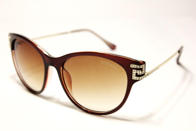 5fa7e6f883a5 Солнцезащитные женские очки Versace (копия) 326 C2 SM - Svitparfum.com - мир