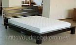 Кровать двуспальная из массива дерева от производителя, фото 2