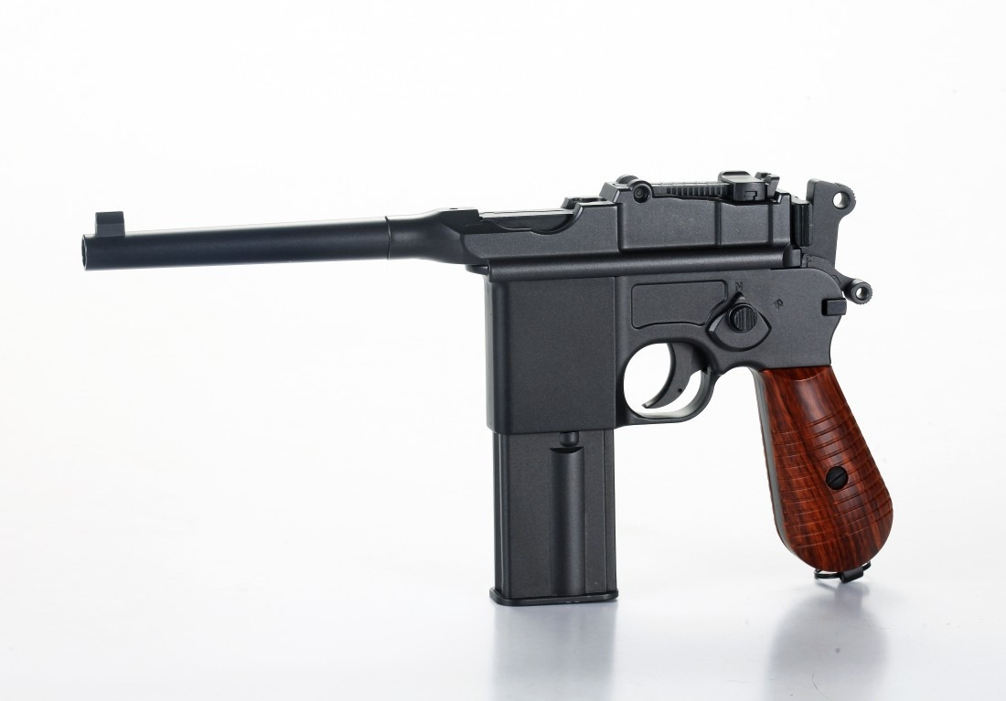 Пистолет пневматический газобалонный SAS MAUSER M.712