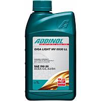 Моторное масло Addinol Giga Light MV0530 LL  5w30 1л