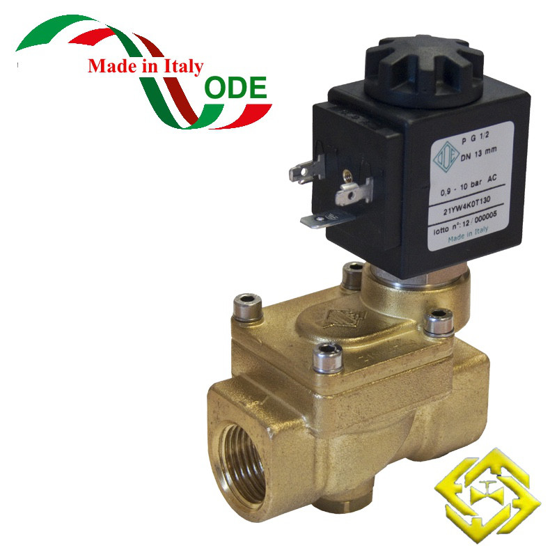 Электромагнитный клапан для пара 21YW6KOT250 (ODE, Italy), G1
