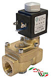 Электромагнитный клапан для пара 21YW6KOT250 (ODE, Italy), G1, фото 2