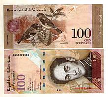 Венесуела 100 болівар 2015 рік стан UNS
