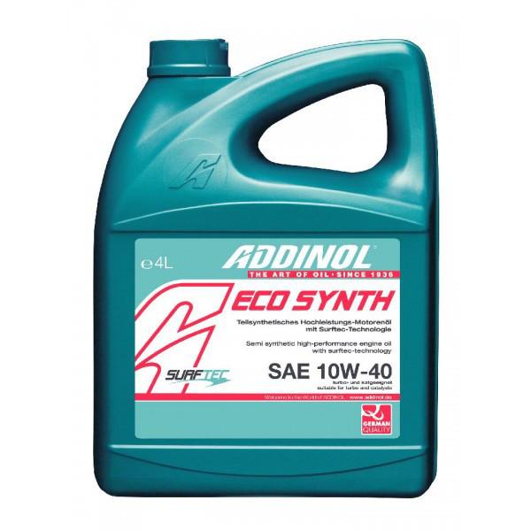 Моторное масло Addinol Eco Synth 10W-40 4л