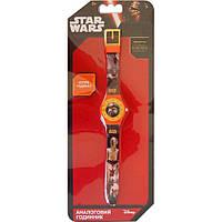 Часы аналоговые Звездные войны оранжевые TBL (SW35233)