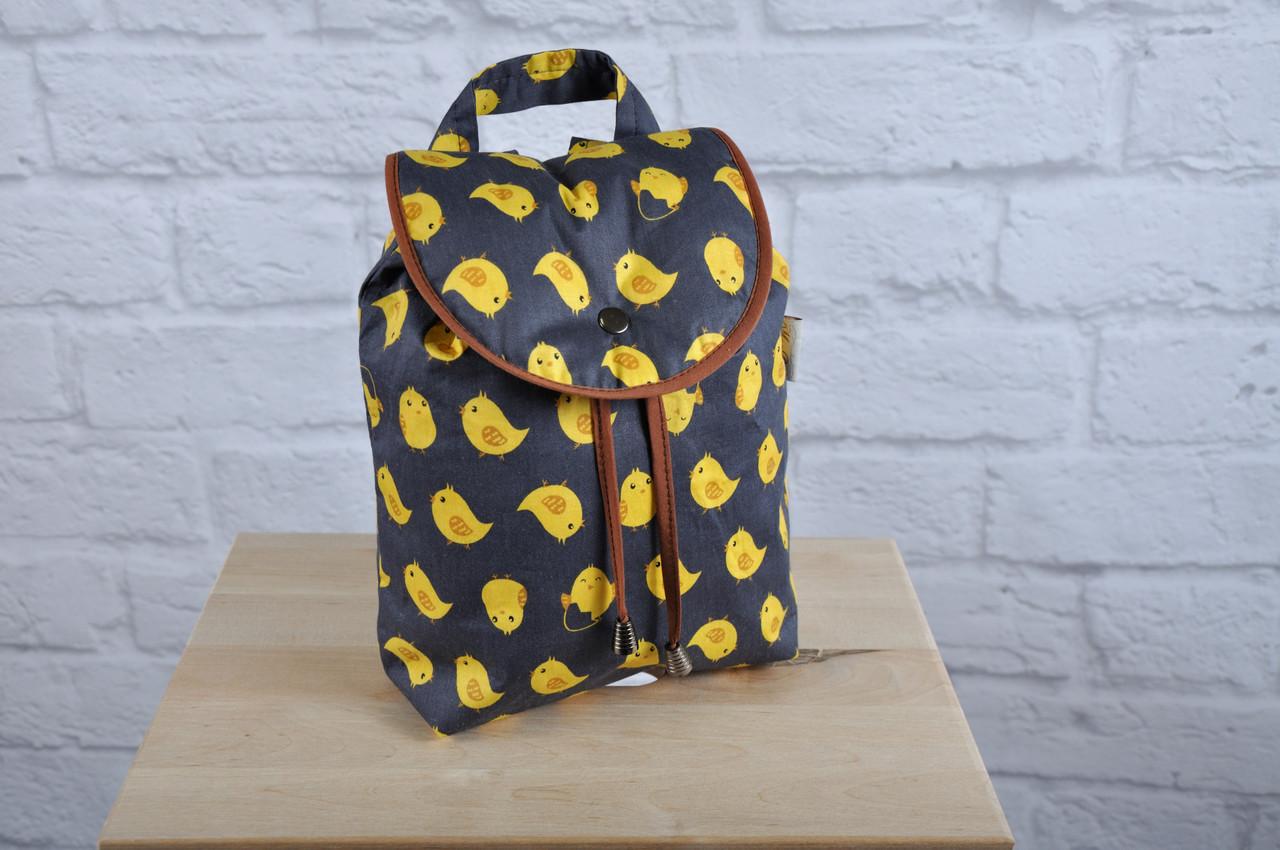 """Дитячий рюкзак """"Птенчики"""""""