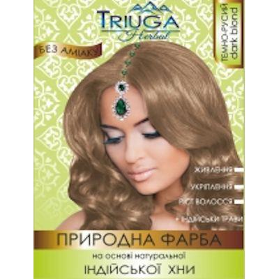 Краска для волос Темно-русый Triuga Herbal 25г