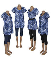 New! Стильные женские летние костюмы больших размеров Jeans Batal ТМ УКРТРИКОТАЖ!
