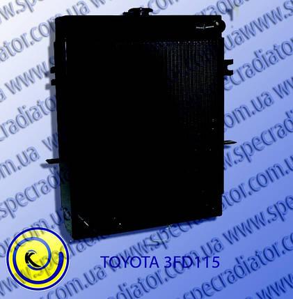 Радиатор водяного охлаждения двигателя  TOYOTA 3FD115, фото 2