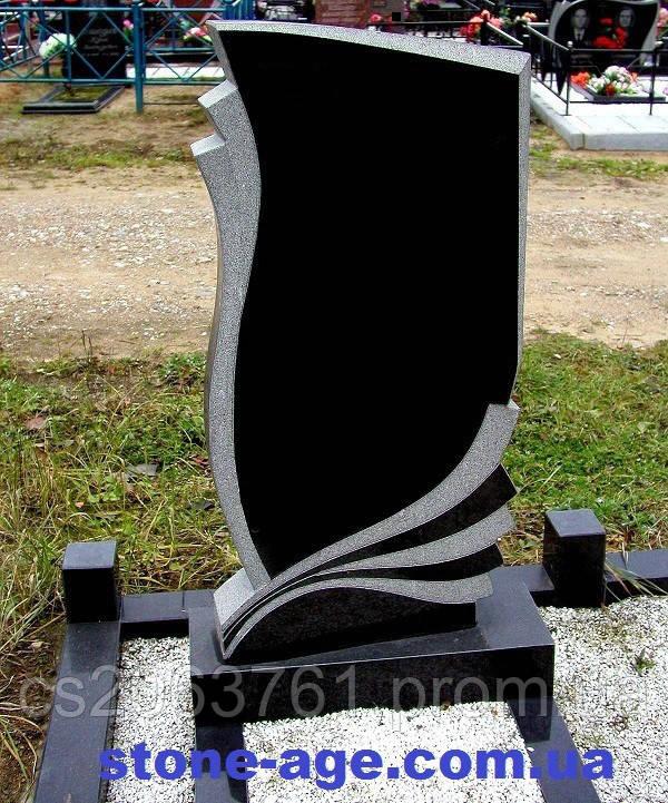 Памятник гранитный с портретом  - STONE AGE в Житомирской области