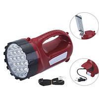ТОП ВЫБОР! Фонарь с аккумулятором YJ - 2820 - 1000691 - аккумуляторный фонарь светильник, фонарь с зарядкой, мощный фонарь, прожектор походный,