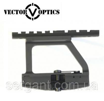 """Быстросъёмный боковой кронштейн Vector Optics на боковую планку """"ласточкин хвост"""" для АК"""