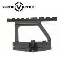 """Быстросъёмный боковой кронштейн Vector Optics на боковую планку """"ласточкин хвост"""" для АК, фото 1"""