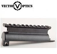 Крышка ствольной коробки с планкой Вивер/Пикатинни  Vector Optics (Китай) для СКС
