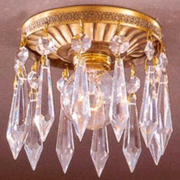 Врезной светильник reccagni angelo spot oro 1832