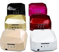 Лампа УФиол. DIAMOND для ногтей/UV Lamp LED36W
