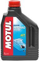 Минеральное масло 4T для лодочных  моторов MOTUL 2 литра