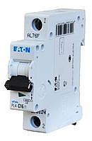 Автоматический выключатель PL6 1п 6А C 6кА Eaton
