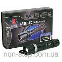 ТОП ВЫБОР! Тактический фонарь LED Bailong 1000W BL-T8626 - 1000190 - мощный фонарь, тактический фонарь, Аккумуляторный фо
