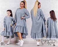 Платье женское свободного фасона коттон 44-46,48-52