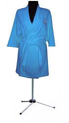 Женский махровый халат из 100% хлопка 52-54 (разные цвета)