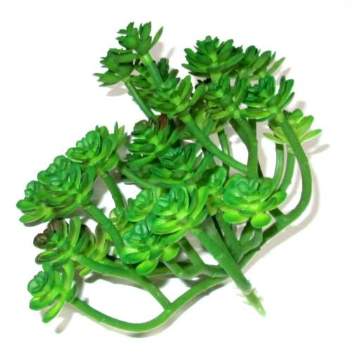 Эониум искусственный 13*13 см, зеленый