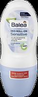 Роликовий дезодорант для чутливої шкіри Balea Deo Roll-on Sensitive, 50 ml