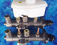 Главный тормозной цилиндр ГАЗ-53, 3307 (2-х секционный) с бачком/ без бачка/ 53-11-3505211, фото 1