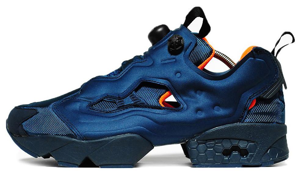 Мужские кроссовки Reebok InstaPump Fury OG NAVY (Рибок ИнстаПамп) темно-синие