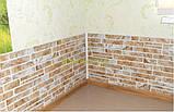 Листова панель ПВХ Регул пилений коричневий - 9К, фото 2