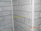 Декоративні панелі ПВХ Регул Галька коричнева - 80 ЦК, фото 4