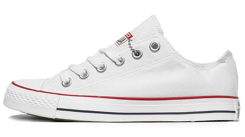 Мужские кеды Converse All Star (Конверс) белые