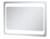 Зеркало LED для ванной металлический каркас сенсор