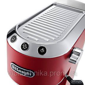 Кофеварка DELONGHI EC685.R red, фото 2