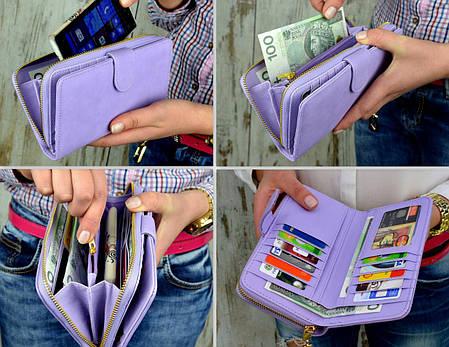 Женский кошелек, клатч, фото 2