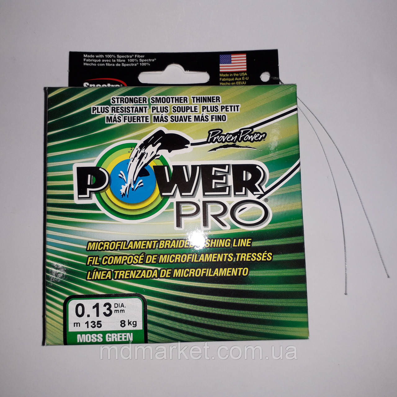 Шнур power pro оригинал 135м 0.13мм