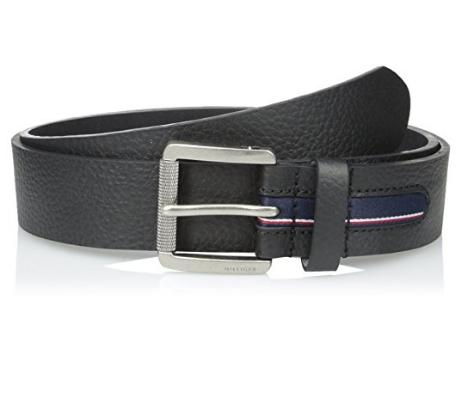 Ремень Tommy Hilfiger - Black (джинсы W36)