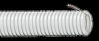 Труба гофр.ПП d 32 с зондом (25 м) IEK лёгкая серия