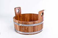 Шайка для бани Sauna wood  из дуба 10 л