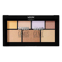 Палетка для стробинга NYX Strobe Of Genius Illuminating Palette