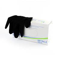 Перчатки нитриловые Polix PRO&MED (100 шт/ 50 пар) BLACK