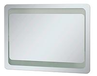 Зеркало для ванной LED 1 металлический каркас кнопка