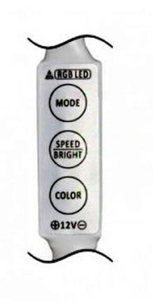 RGB мини контроллер Feron LD51 12A (3 кнопки) Код.57380, фото 2