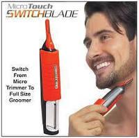 Мужской триммер Micro Touch Switchblade 6 в 1