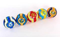 Мяч футбольный №2 Сувенирный Сшит машинным способом  (№2, PVC матовый)