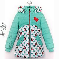 Весенние куртки и плащи для девочек от производителя, фото 1