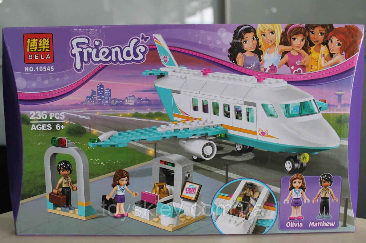 Конструктор Bela Friends 10545 Частный самолет 236 дет
