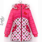 Детские куртки для девочек демисезонные