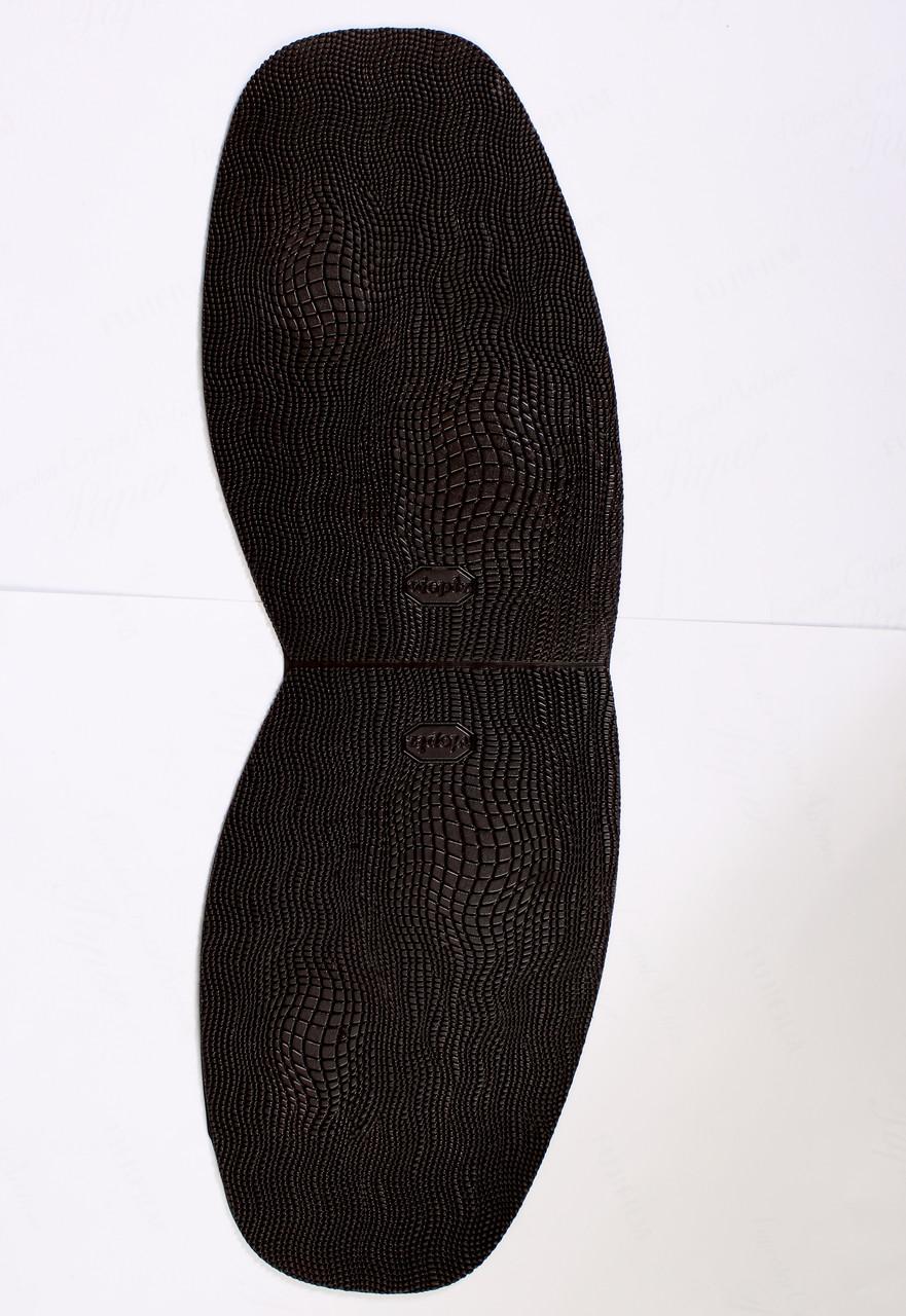 """Формованная подметка """"Reptile"""" цвет коричневый толщина 1,5mm"""