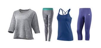 Одежда для гимнастики, фитнеса и йоги